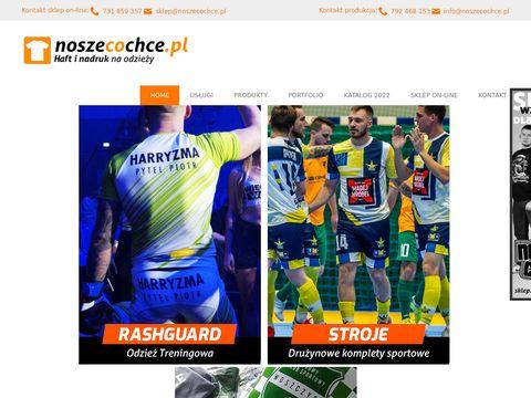 Noszecochce.pl nadruki na odzieży sklep