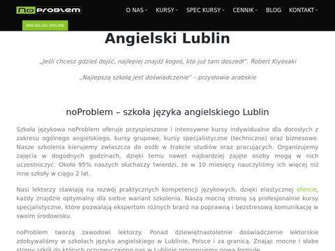 Noproblem.edu.pl angielski Lublin