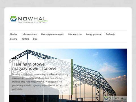 Nowhal - projektowanie i budowa hal magazynowych