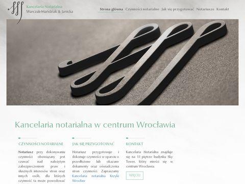 Notariuszskytower.pl