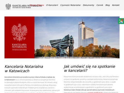Notariuszadamrobak.pl