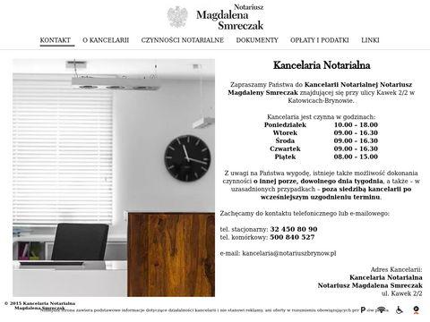 Notariuszbrynow.pl - spisywanie protokołów