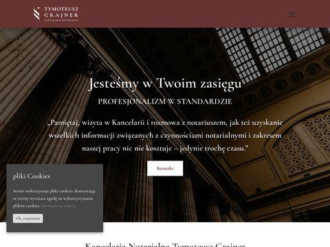 Notariusze - Grajner prawnik katowice