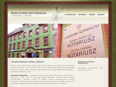 Notariuszegliwice.pl Kancelaria Notarialna Zabrze