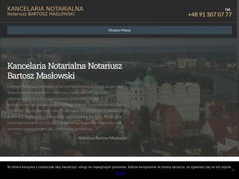 Notariusz-maslowski.pl kancelaria Szczecin