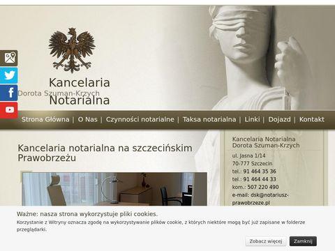 Dorota Szuman-Krzych notariusz