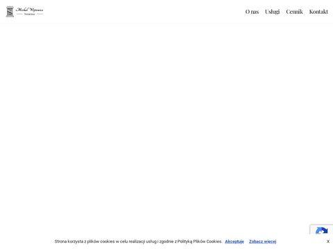 Mgr Michał Wójtowicz Notariusz Żywiec