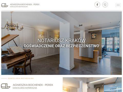 Ludźmierski Bochenek Notariusze Kraków