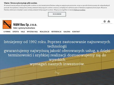 N&M Bau Sp. z o.o. - Hale przemysłowe