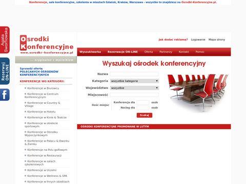 Ośrodki-Konferencyjne.pl Kraków, małopolskie