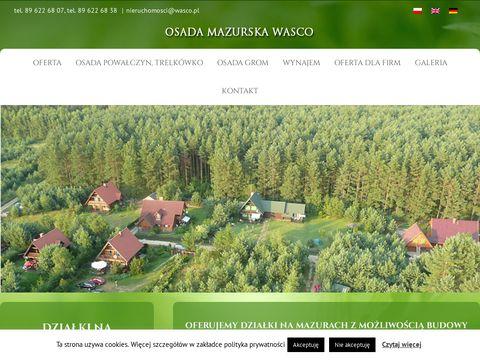 Osadamazurska.pl - oferta sprzedaży działek