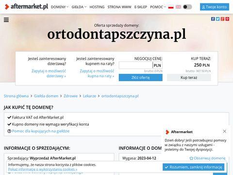 Ortodontapszczyna.pl