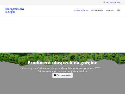 Ornitech.pl producent obrączek na gołębie