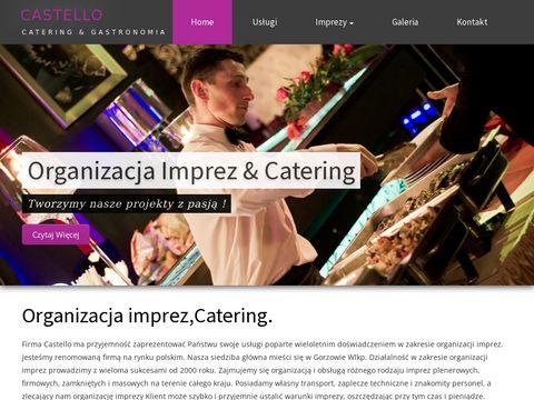 Organizacja imprez, Catering, Punkt Gastronomiczny