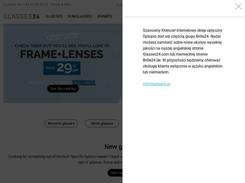 Optopro.pl - okulary online