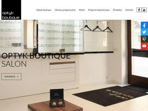 Okulary - dobierz je w Optyk Boutique