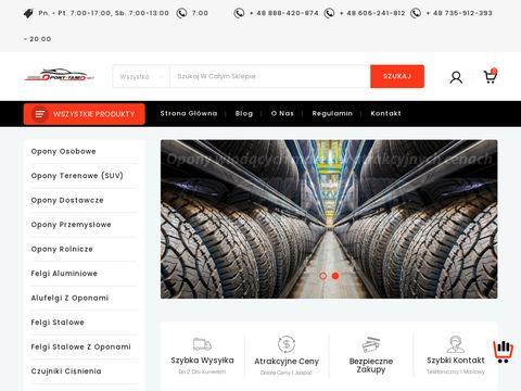 Opony-tanio.net sklep internetowy