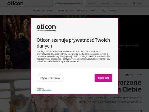 Oticon.pl - aparaty słuchowe