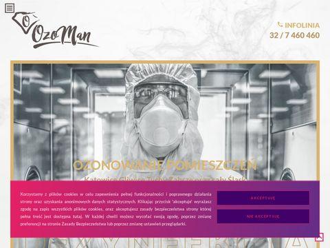 Ozoman.pl dezynfekcja ozonem