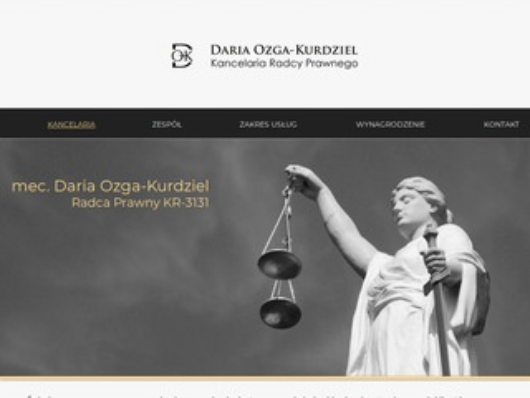 Daria Ozga-Kurdziel radca prawny