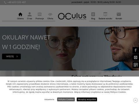 Oculus okulary Wrocław