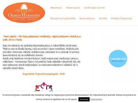Ogród Harmonii - joga w Krakowie