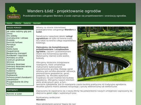 Wanders - ogrody Łódź