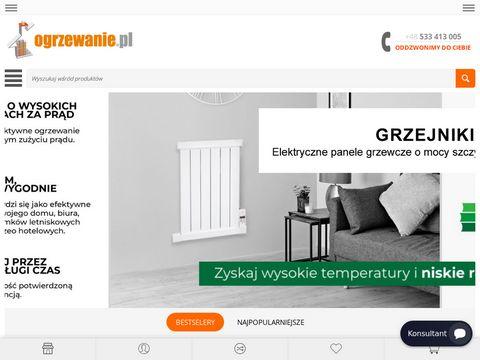 Sklep internetowy z ogrzewaniem - Ogrzewanie.pl