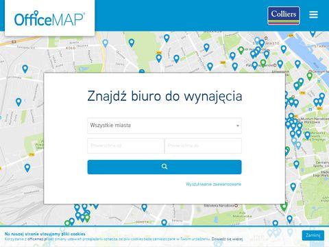 Wynajem biur - Officemap.pl