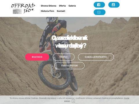 Offroad360.pl rowery fantic Myślenice