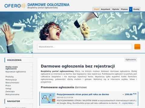 Ofero.pl - przetargi, zlecenia dla firm