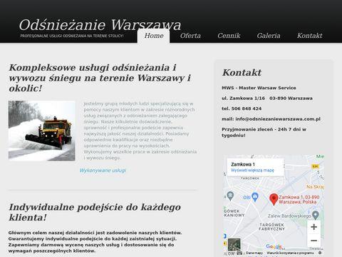 Odsniezaniewarszawa.com.pl