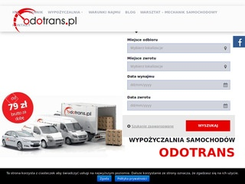 Odotrans.pl - wynajem samochodów w Tarnowie