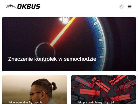 OKbus.pl - tani dojazd busem do Warszawy