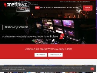 Onestream.pl streaming Łódź