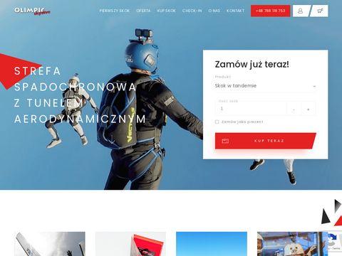 Olimpic Skydive skok ze spadochronem