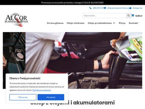 OlejeDoSilnikow.pl - Sklep z olejami do silników