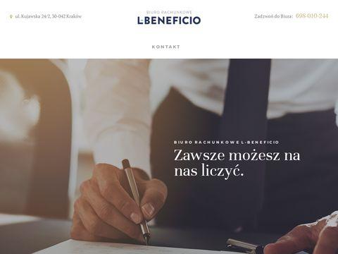 L-beneficio.pl księgowość Kraków