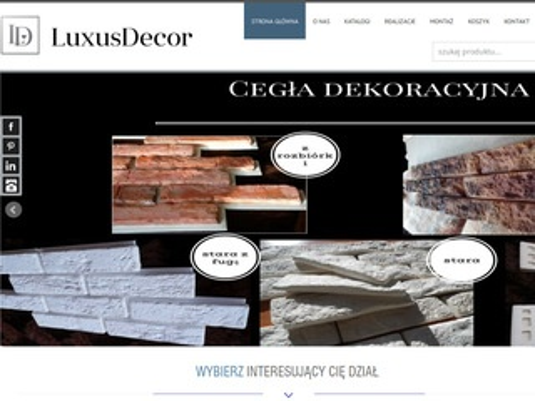 Luxusdecor.eu listwy przypodłogowe mdf