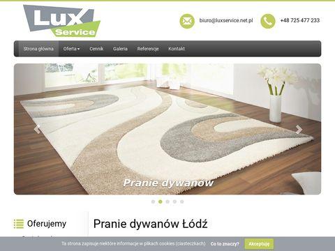 Luxservice.net.pl - pranie dywanów Łódź