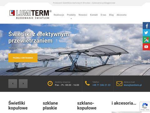 Lumiterm.pl świetliki dachowe