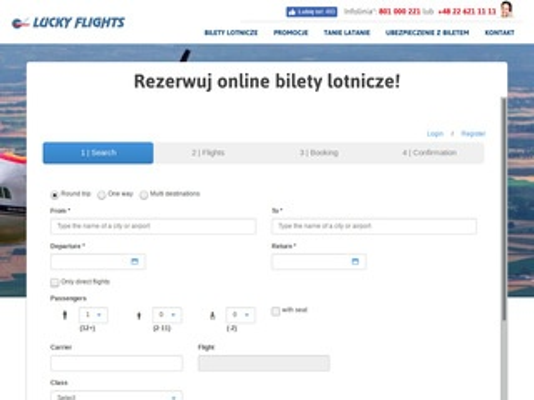 Lucky flights - biuro podróży