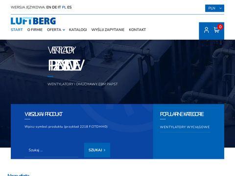 Luftberg.pl wentylatory
