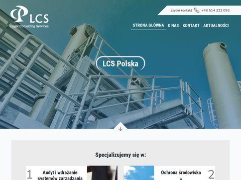 Lcs-polska.pl ISO 14001 Trójmasto