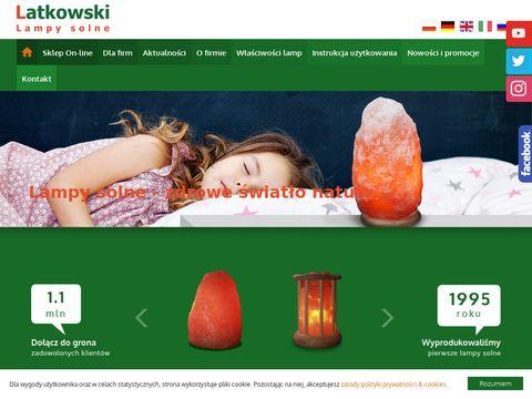 Latkowski.pl lampy solne Kłodawa