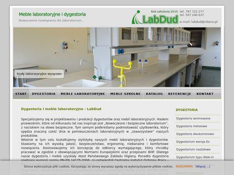 Labdud - meble laboratoryjne, dygestoria