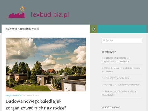 Lexbud.biz.pl osuszanie budynków