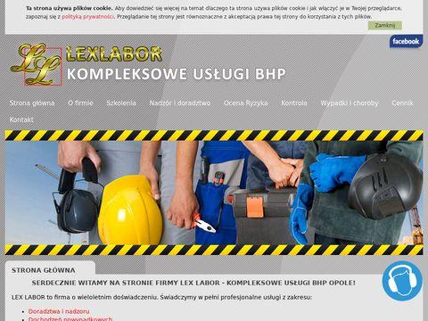 Lexlabor.pl - BHP Opole