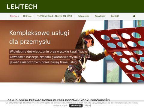 Zakład mechaniczny - Lewtech