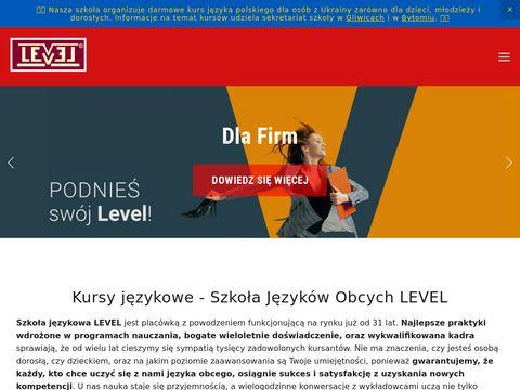 Level.edu.pl szkoła językowa Bytom